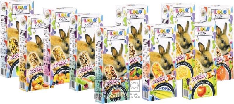 LOLO vitamínové tyčky pro králíky