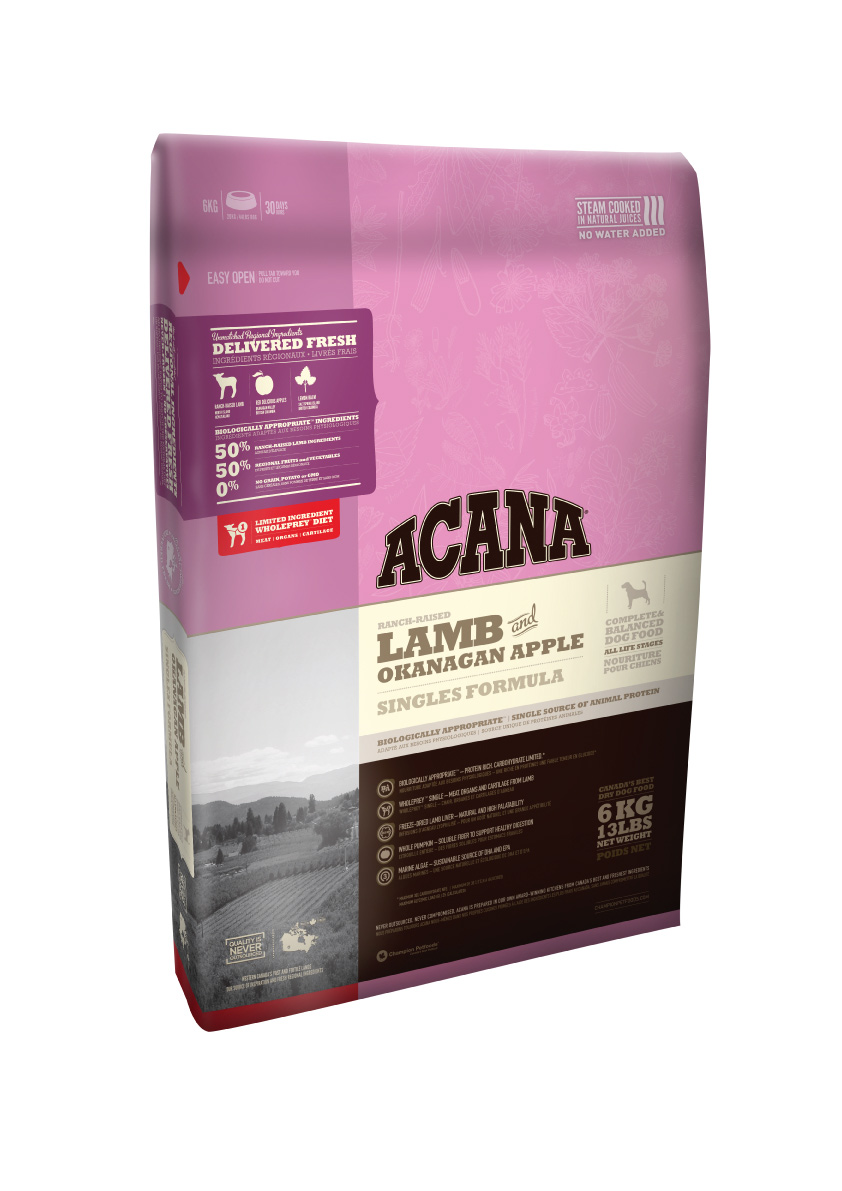 Acana Lamb a Okanagan Apple 18kg plus DOPRAVA ZDARMA!