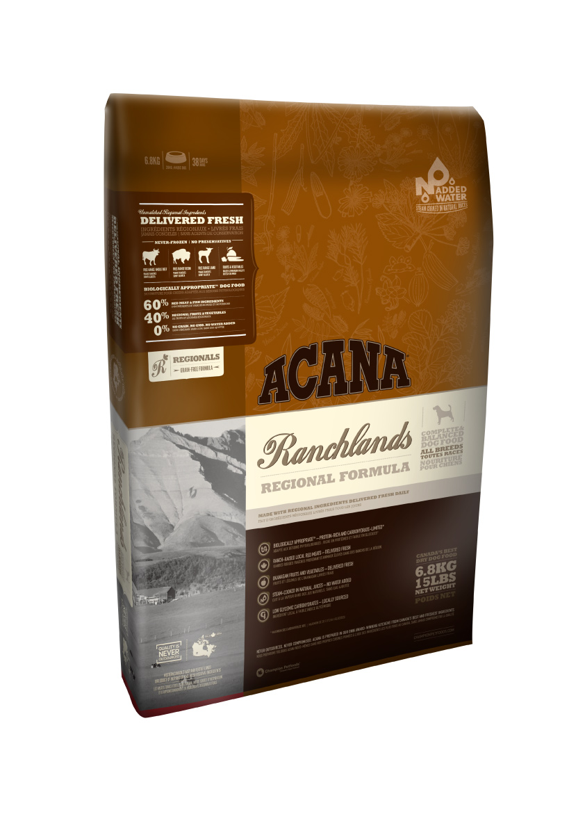Acana Ranchlands Dog 13kg plus DOPRAVA ZDARMA!