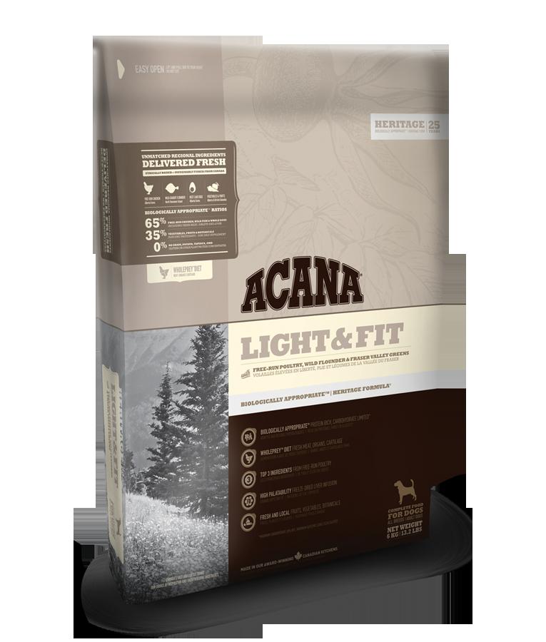Acana Heritage Light a Fit 11,4kg plus DOPRAVA ZDARMA