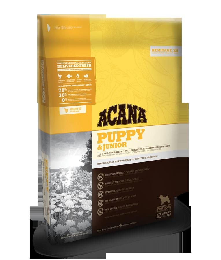 Acana Heritage Puppy a Junior 11,4kg plus DOPRAVA ZDARMA