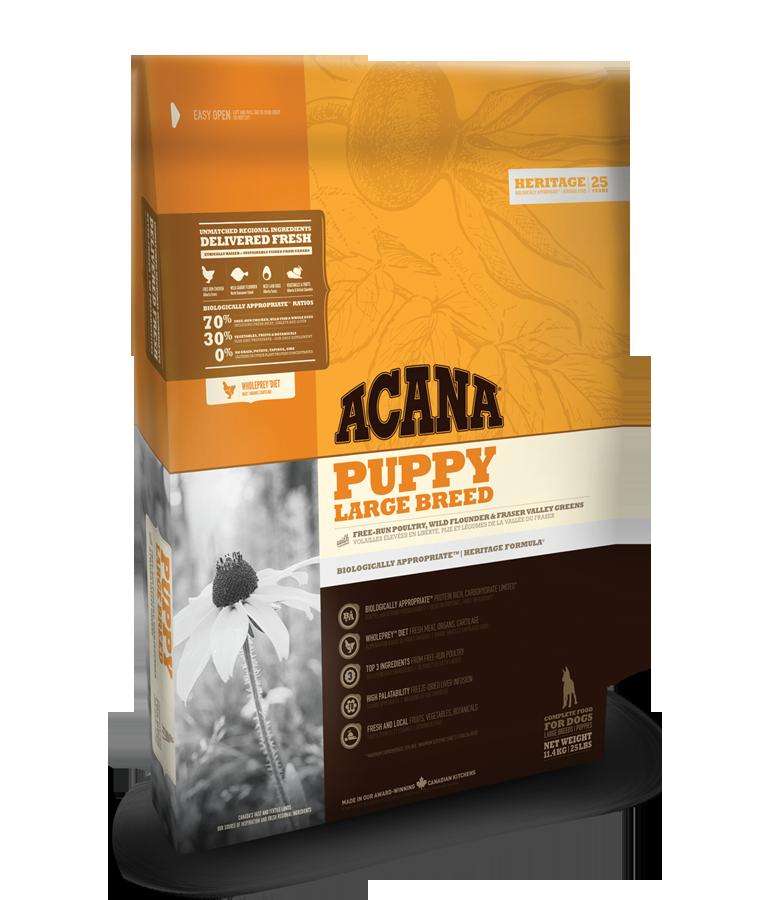 Acana Heritage Puppy Large Breed 11,4kg plus DOPRAVA ZDARMA