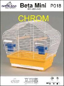 Klec Beta Mini chrom 365x200x340mm