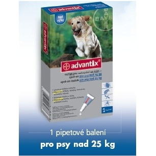 Advantix Spot On 1x4ml nad 25kg