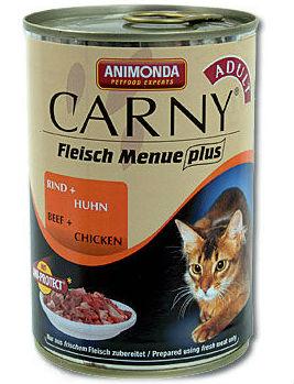 Animonda hovězí plus kuře pro kočky 400g