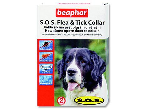 Beaphar obojek antiparazitní S.O.S Flea a Tick Collar 70cm