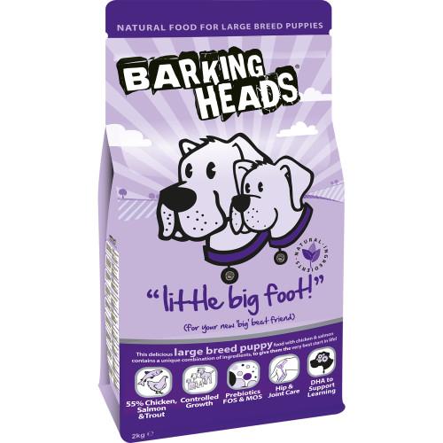 Barking Heads Little Big Foot (Puppy Large Breed) 2kg