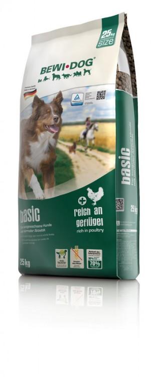 Bewi Dog Basic rich in poultry 25kg plus DOPRAVA ZDARMA!