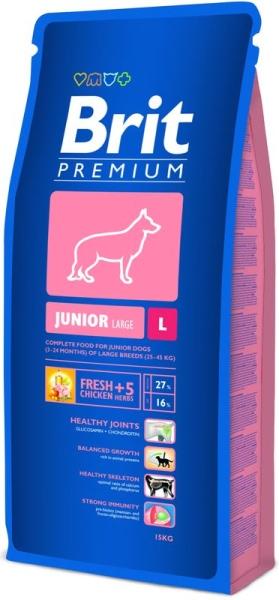 Brit Premium Junior L 15kg