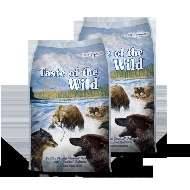 Taste of the Wild Pacific Stream 2x13kg plus DÁREK a DOPRAVA ZDARMA!