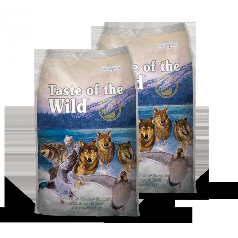 Taste of the Wetlands Wild Fowl 2x13kg plus DÁREK a DOPRAVA ZDARMA!