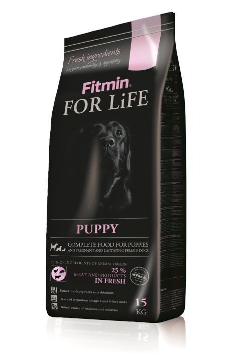 Fitmin Dog For Life Puppy 15kg plus DÁREK