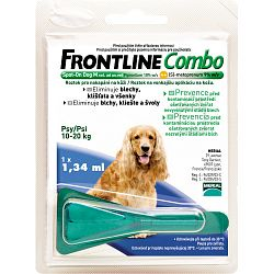 Frontline Combo Spot-On Dog M, 10-20kg
