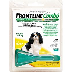 Frontline Combo Spot-On Dog S, 2-10kg
