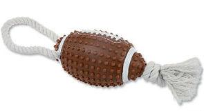 Přetahovadlo míč americký fotbal 10cm