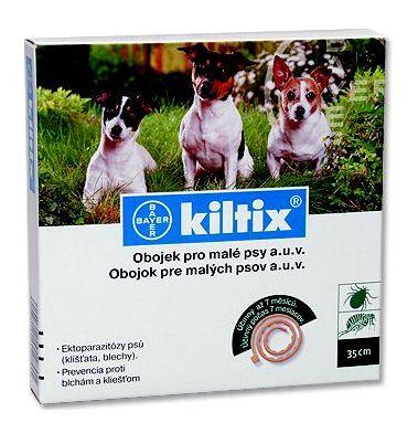 Kiltix antiparazitní obojek pro malé psy 38cm