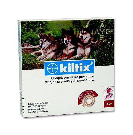 Kiltix antiparazitní obojek pro velké psy 70cm