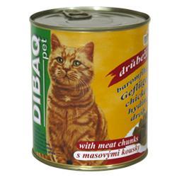Dibaq Pet konzerva kočka zvěřina 810g