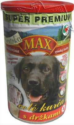 MAX 3/4 kuřete s držkami 1200g