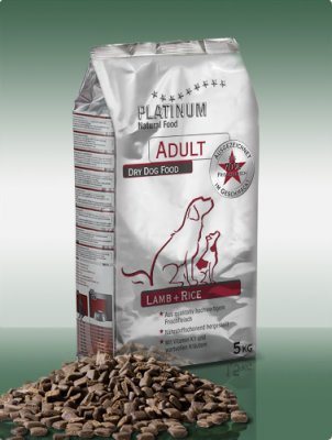 Platinum Natural Adult Lamb a Rice 5kg
