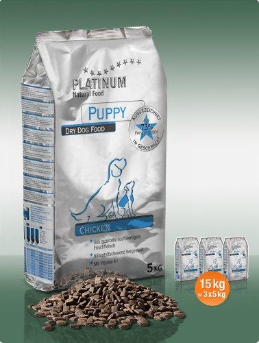 Platinum Natural Puppy Chicken 15kg plus DÁREK a DOPRAVA ZDARMA!