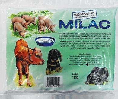Mikrop milac krmné mléko (štěně, kotě, tele, sele) 3kg