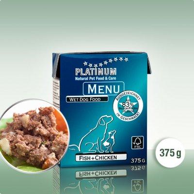 Platinum menu ryby plus kure 375g