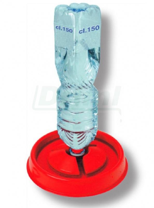 Поилка утятам из пластиковых бутылок