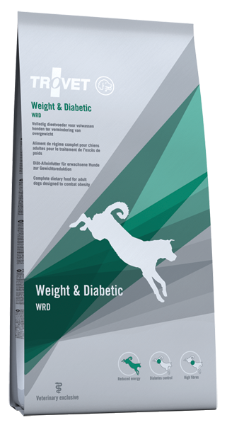 Trovet Weight a Diabetic WRD 12,5kg plus DOPRAVA ZDARMA!