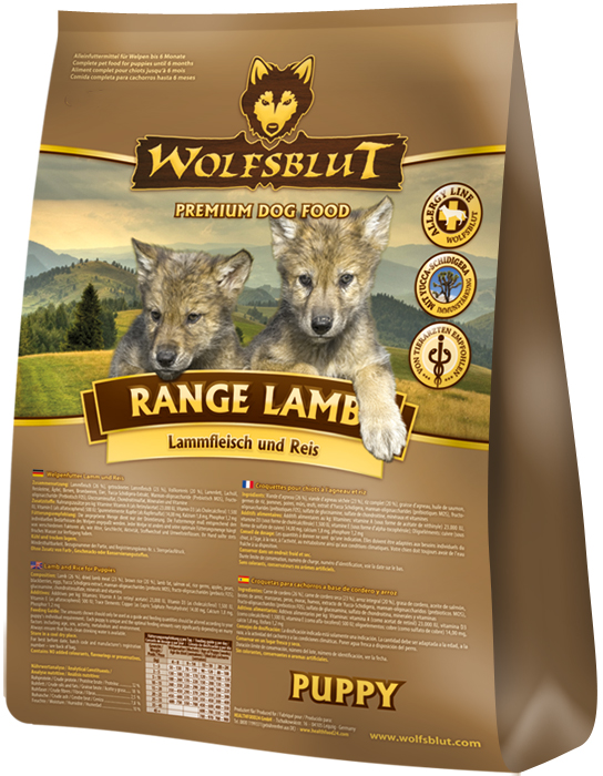Wolfsblut Range Lamb Puppy 15kg plus DOPRAVA ZDARMA!