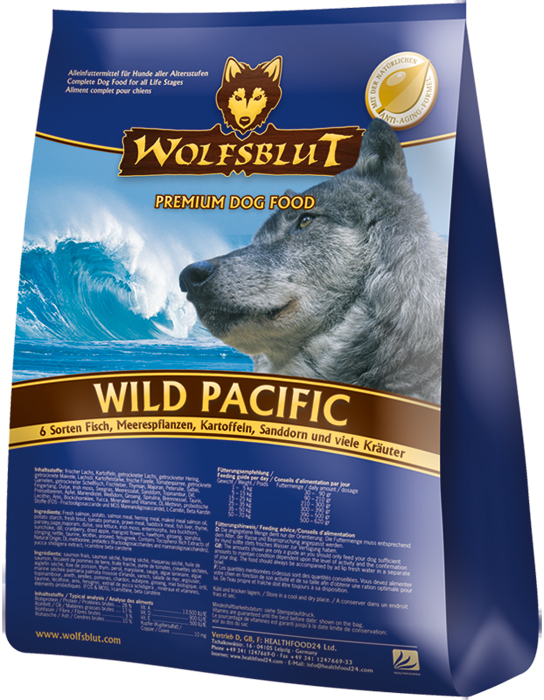 Wolfsblut Wild Pacific 15kg plus DOPRAVA ZDARMA!
