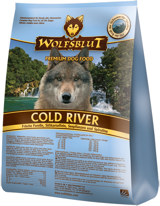 Wolfsblut Cold River 2kg