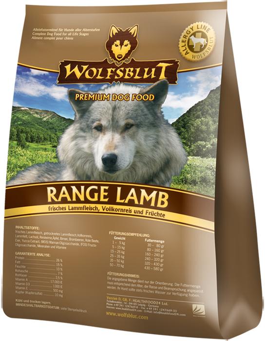 Wolfsblut Range Lamb 15kg plus DOPRAVA ZDARMA!