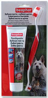 Pasta zubní Beaphar plus kartáček kombipack